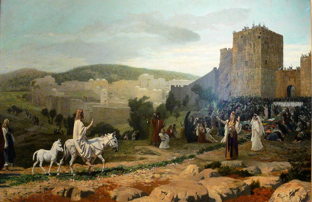 1024px-Gérôme_-_L'entrée_du_Christ_à_Jérusalem_-_cadre2