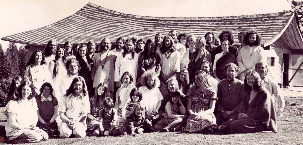 Ananda members in the early days.