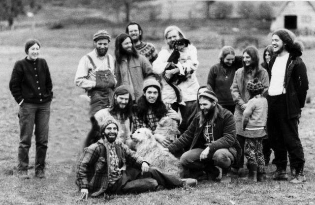 Photo: Ananda Incense staff, 1972. L-R: Parvati, Bob Belleza, Nakula, Jyotish, Keshava, Binay, Jaya