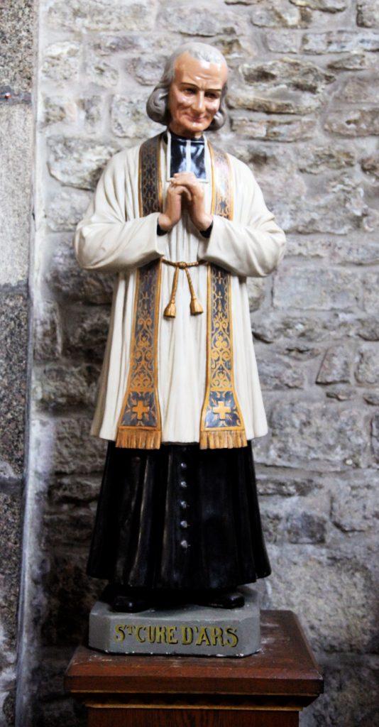 St. Jean Vianney, the Curé d'Ars. Click to enlarge.