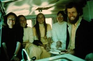 Nuns and Nitai, 1976.