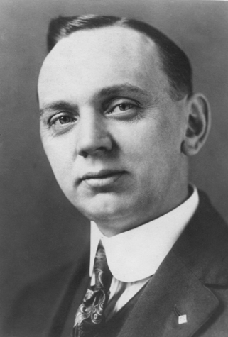 Edgar Cayce as a young man.