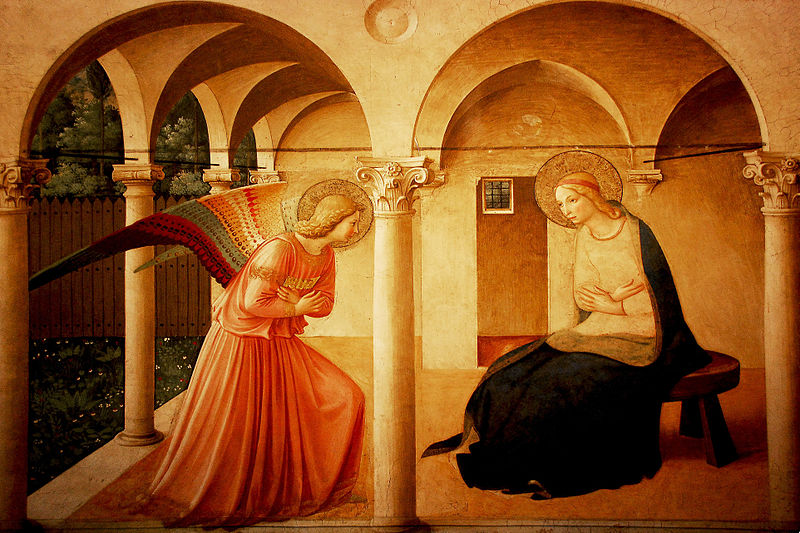 Fra Angelico, The Annunciation (circa 1437-1446)