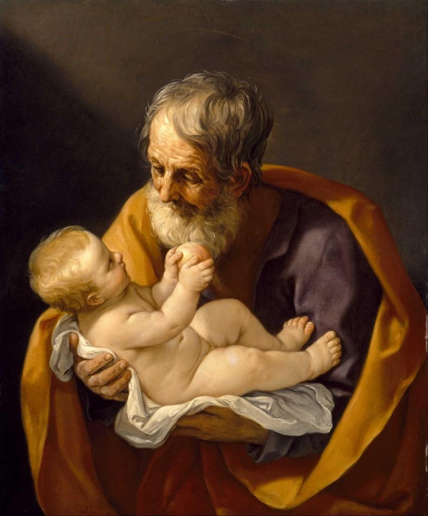 Joseph and the Christ Child, Guido Reni