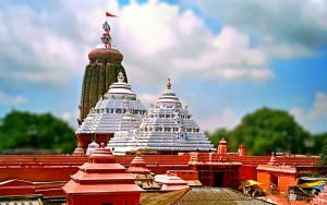Jagannath Temple in Puri (Click for larger view)