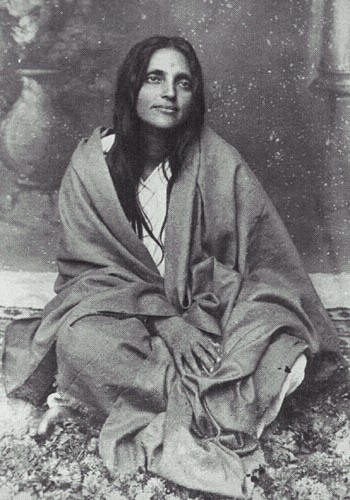 """Anandamoy Ma, the Bliss-Permeated Mother. """"I am ever the same."""""""