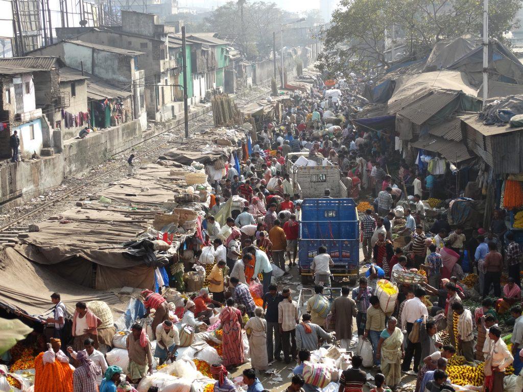 Market scene, Kolkata