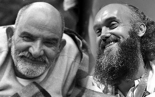 Neem Karoli Baba and Ram Dass.