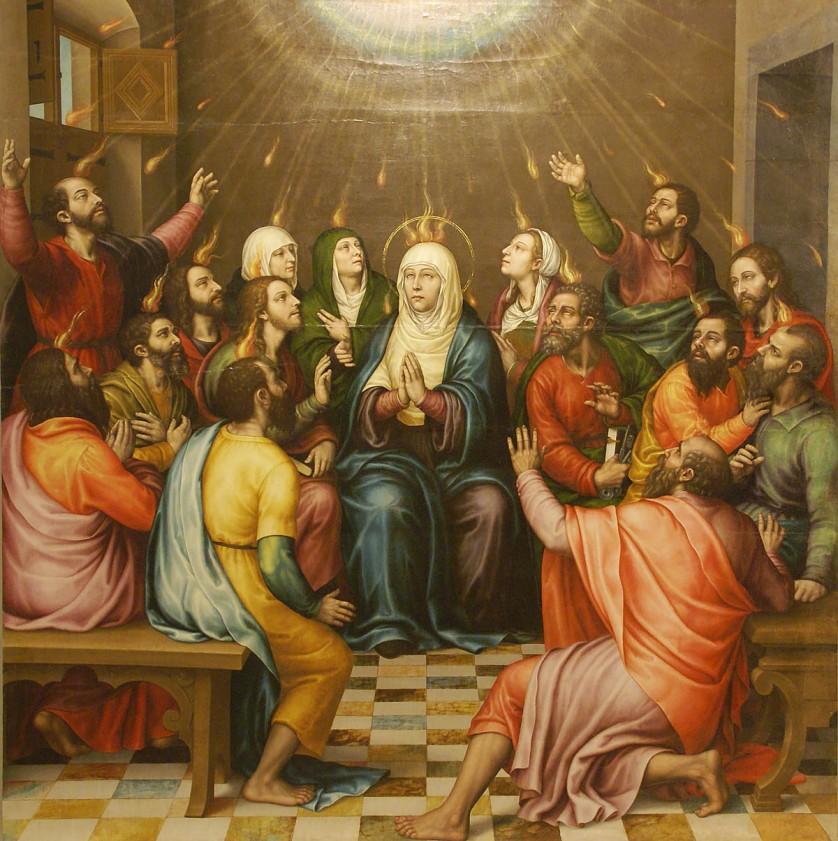 Pentecost, Borras
