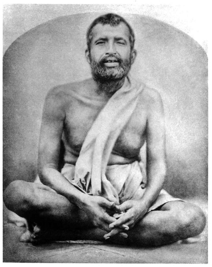 Ramakrishna at Dakshineswar. Click to enlarge.