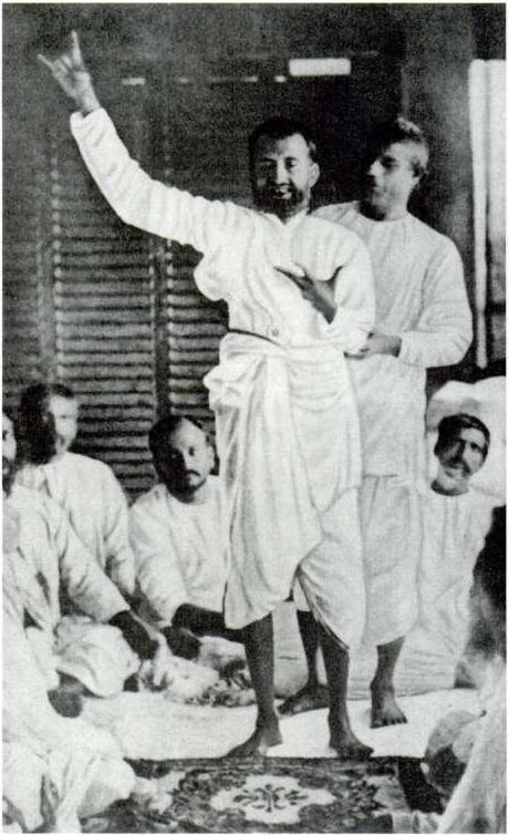 Ramakrishna in ecstasy, 1878.