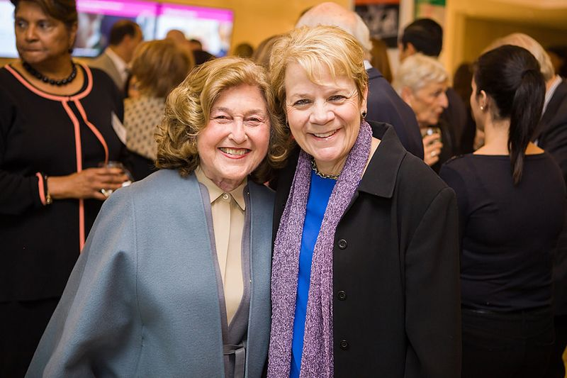 Rheda Becker, music director of the Baltimore Symphony, with Marin Alsop, conductor. (Image source: Wikimedia; Creative Commons License.)