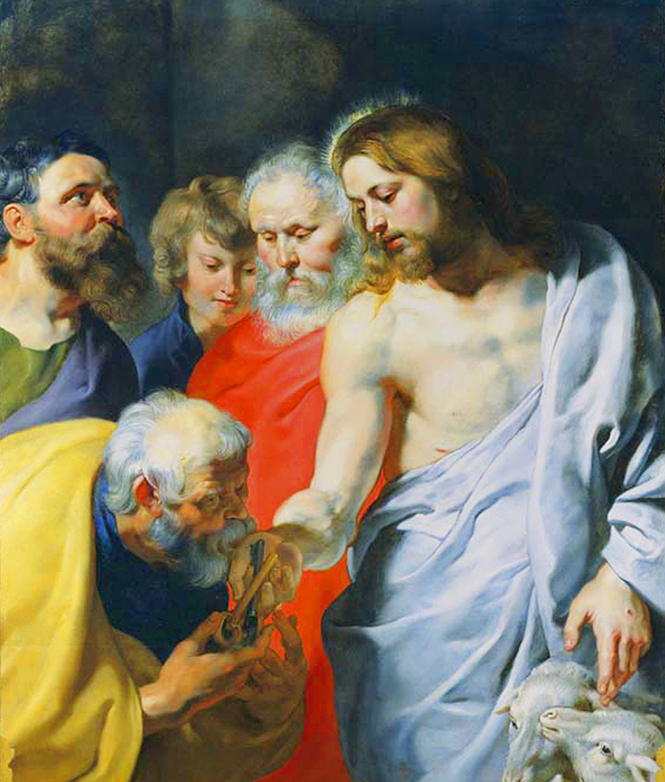 Peter Paul Rubens, Christ's Commission to Peter, c. 1616