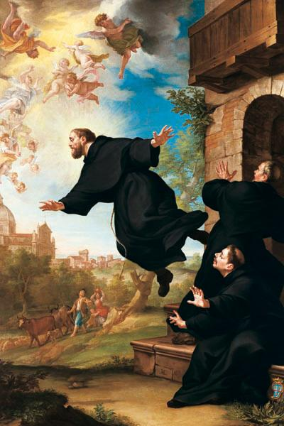 St. Joseph of Cupertino was considered unfit to perform the mass, as he would inconveniently float up to the ceiling.