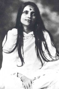 Sri Anandamoy Ma. In India, the Mother is universally worshiped. Societies that worship God as Mother, the Indian scriptures tell us, endure, while those that worship God as Father are short-lived. Click to enlarge
