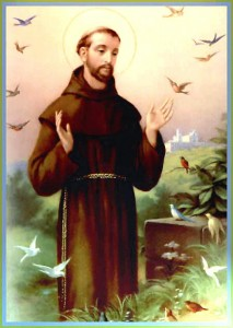 ... and on the other hand, St. Francis. (Click to enlarge.)