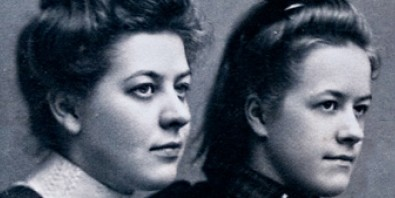 Betsie and Corrie Ten Boom as young women.