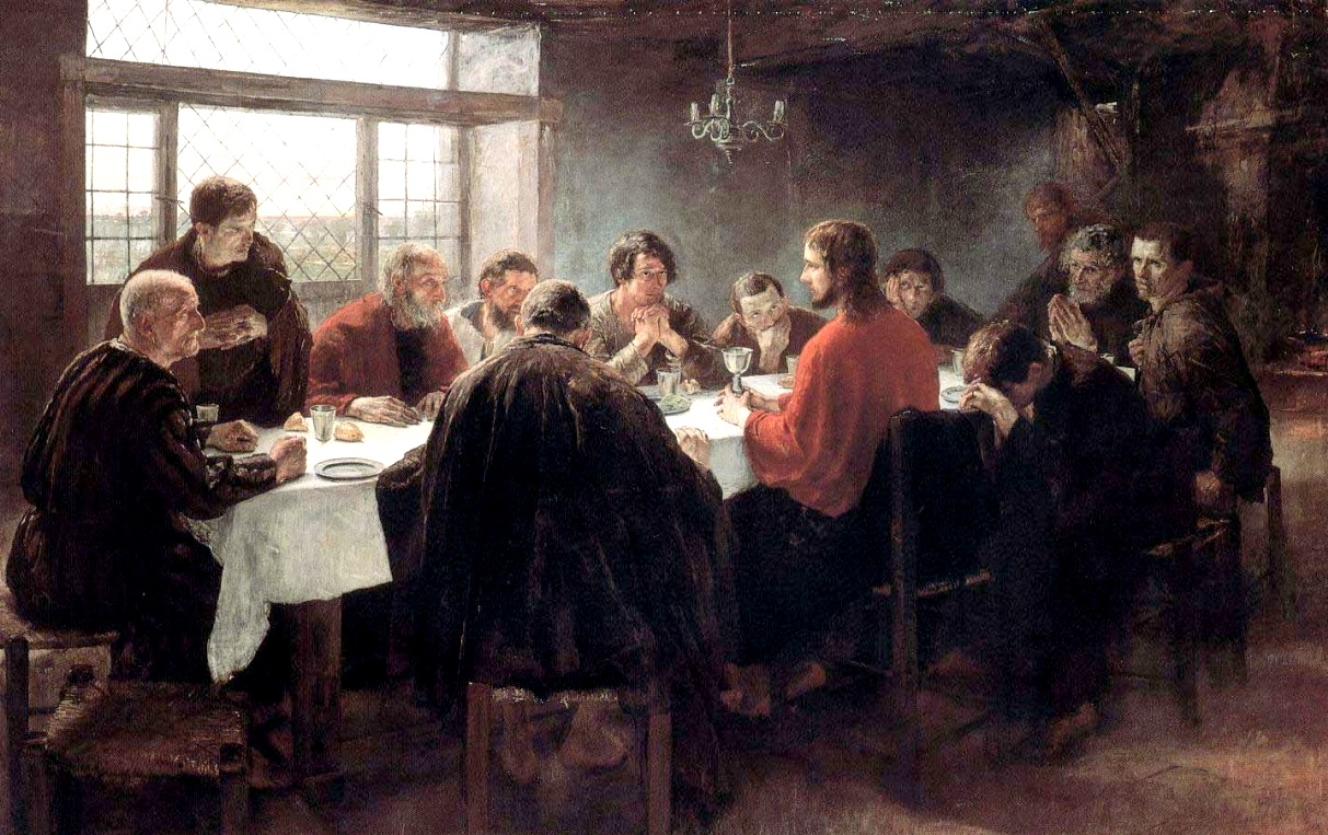 Fritz von Uhde, The Last Supper, 1886