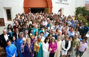 Family photo, Ananda Sangha, Palo Alto.