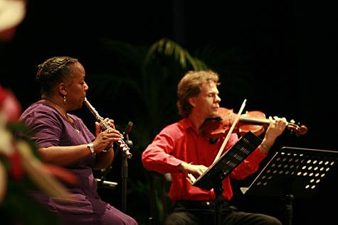 Bhagavati and Ramesha Nani in concert