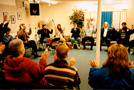 Meetings at Ananda always begin with a prayer that every decision be made in harmony with God's will.