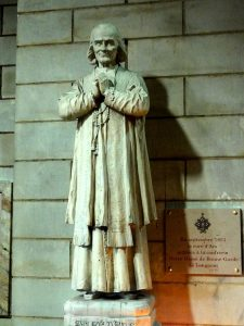 St. Jean Vianney, the Cure d'Ars (the village priest of Ars). Click to enlarge.