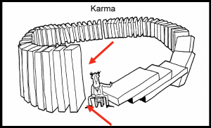 karma cartoon