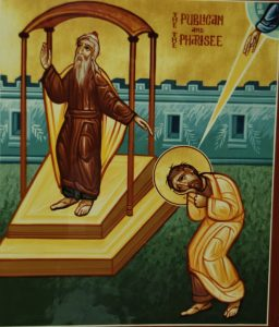 Icon: Publican and Pharisee
