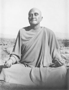 "Rajarsi Janakananda (James Lynn). ""I have come to understand that one-hundred percent of the spiritual path is receptivity."""