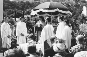 Paramhansa Yogananda and Swami Kriyananda
