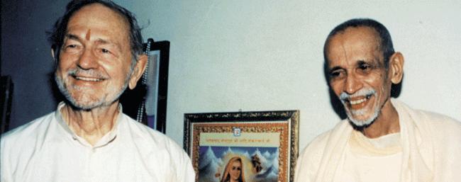 Swami Kriyananda with Swami Chidananda