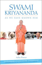 Book cover - Swami Kriyananda, As We Have Known Him
